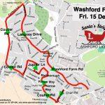Santa map: Washford Farm