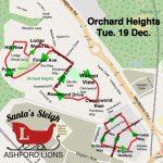 Santa Map: Orchard Heights