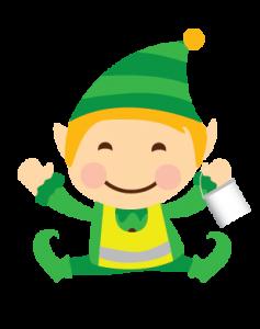 Santa Green Elf