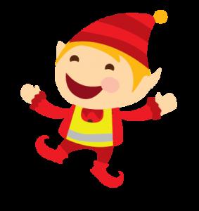 Santa Red Elf