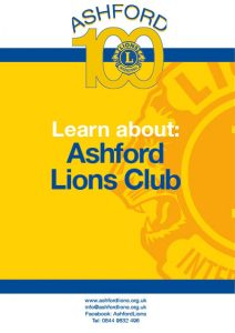 Learn about the Ashford Lions Club