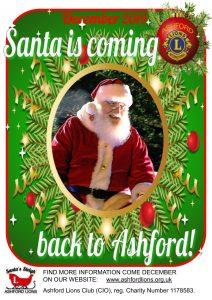 Santa Sleigh 2020 coming back to Ashford