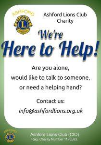 Ashford Lions Here to help