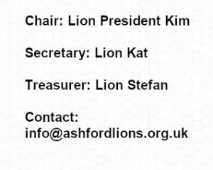 Ashford Lions Contacts