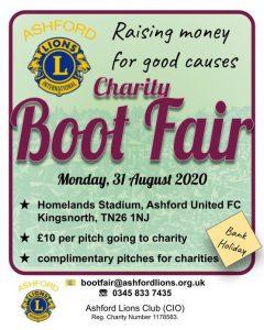 Ashford Lions Charity Boot Fair